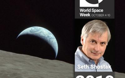 World Space Week Association Podcast – Seth Shostak, Senior Astronomer at SETI.
