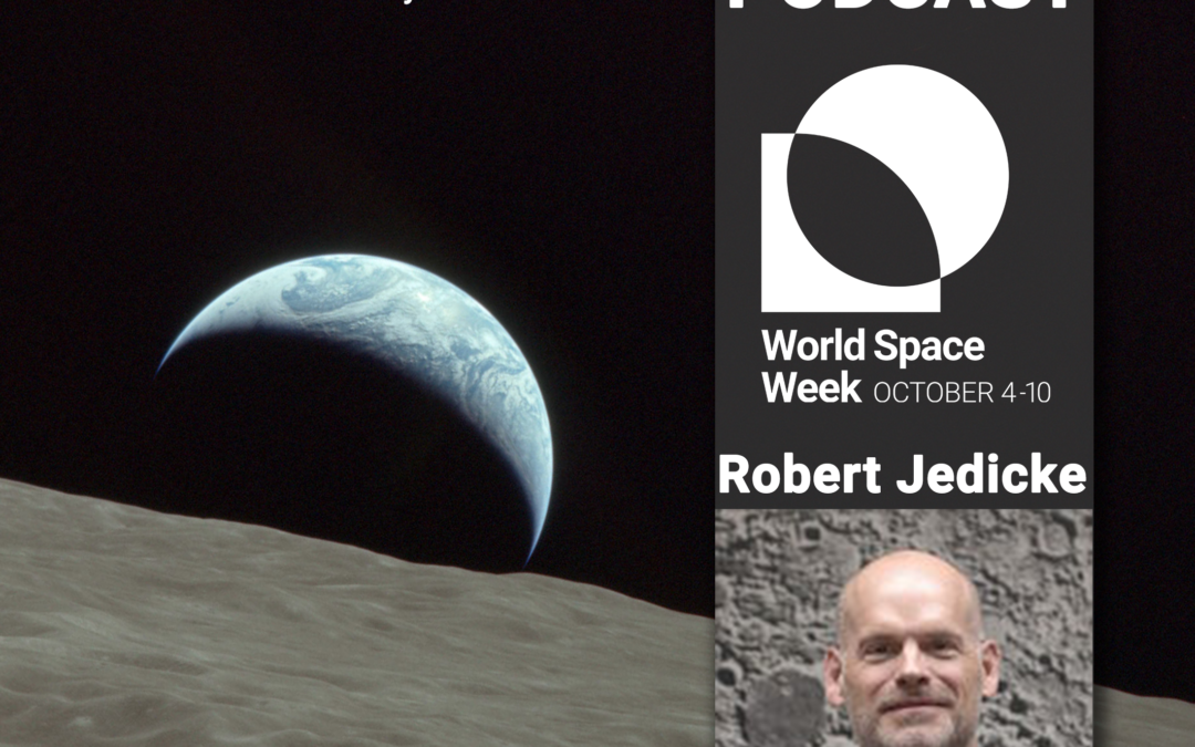 World Space Week Association Podcast – About Asteroids 2019, Robert Jedicke