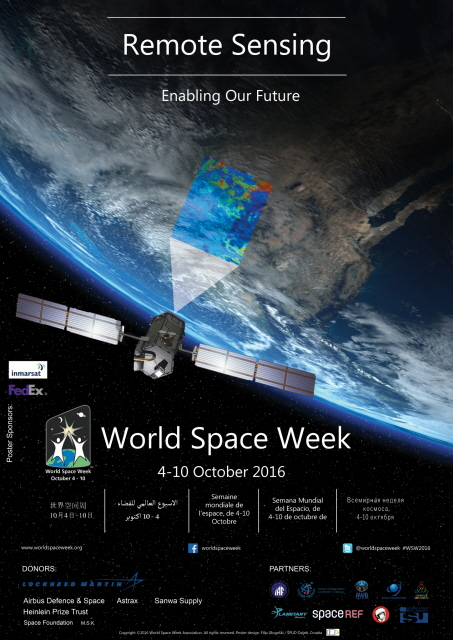 World Space Week 2016 Poster